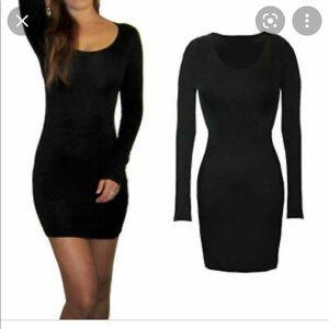 2/$30 Bebe black bodycon mini dress